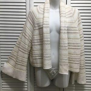 Moth Anthropologie Mahalia kimono sweater ivory S
